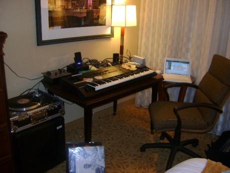 J Rawls Hotel Room porta studio